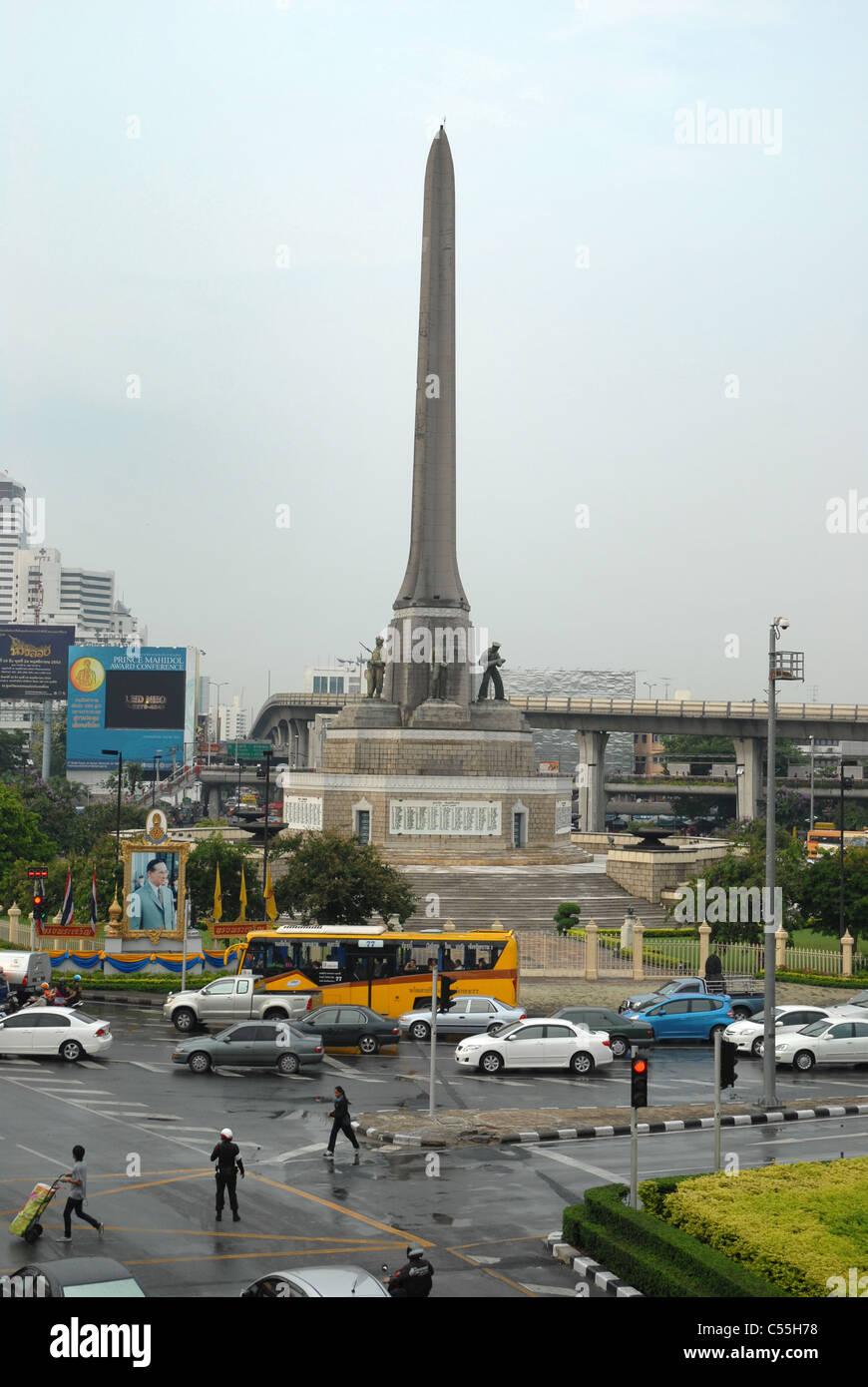 9efc2e6155 Bangkok Victory Monument Thailand Stock Photo  37617308 - Alamy