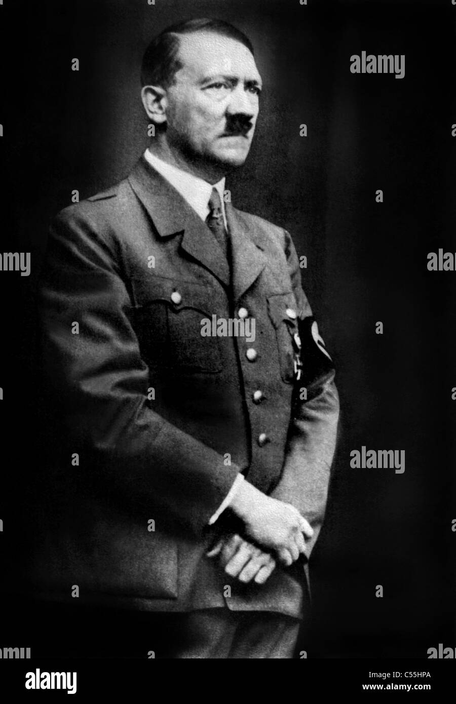 ADOLF HITLER FUHRER OF GERMANY NAZI LEADER 01 May 1940 - Stock Image