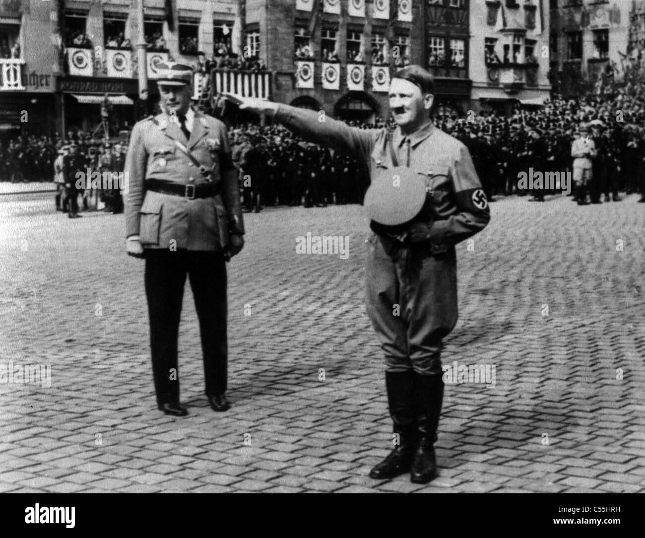 ADOLF HITLER FUHRER OF GERMANY NAZI LEADER 07 June 1938 - Stock Image