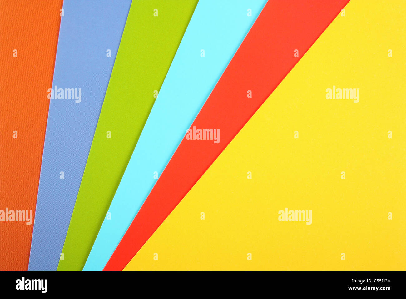 sheets of a multi colored paper stock photo 37620334 alamy