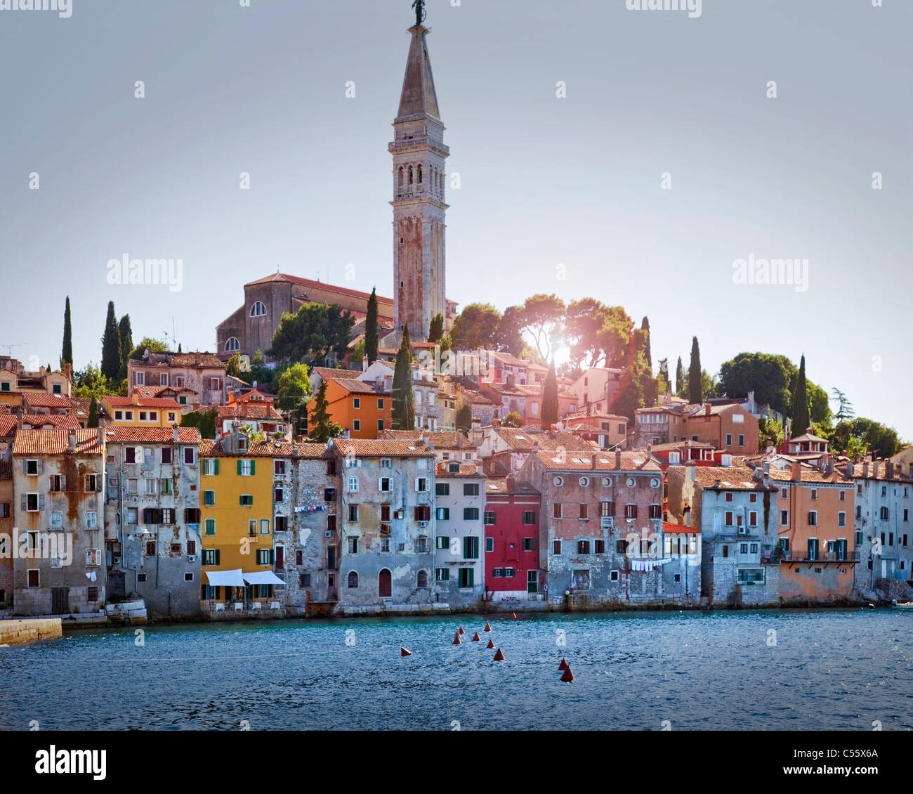HR - ISTRIA: Historic Town of Rovinj - Stock Image