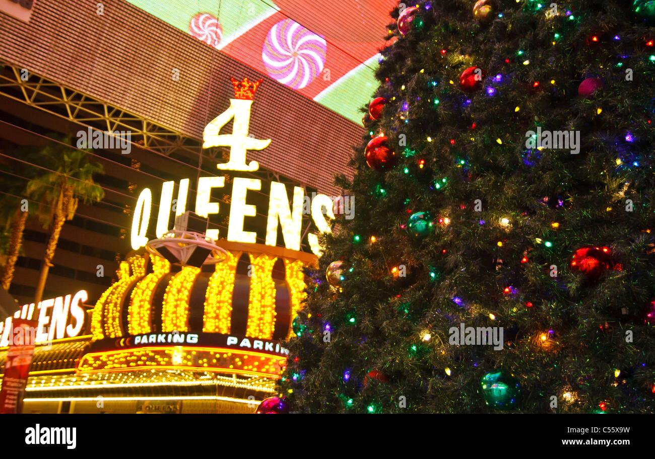 Christmas In Vegas.Christmas In Vegas Stock Photos Christmas In Vegas Stock