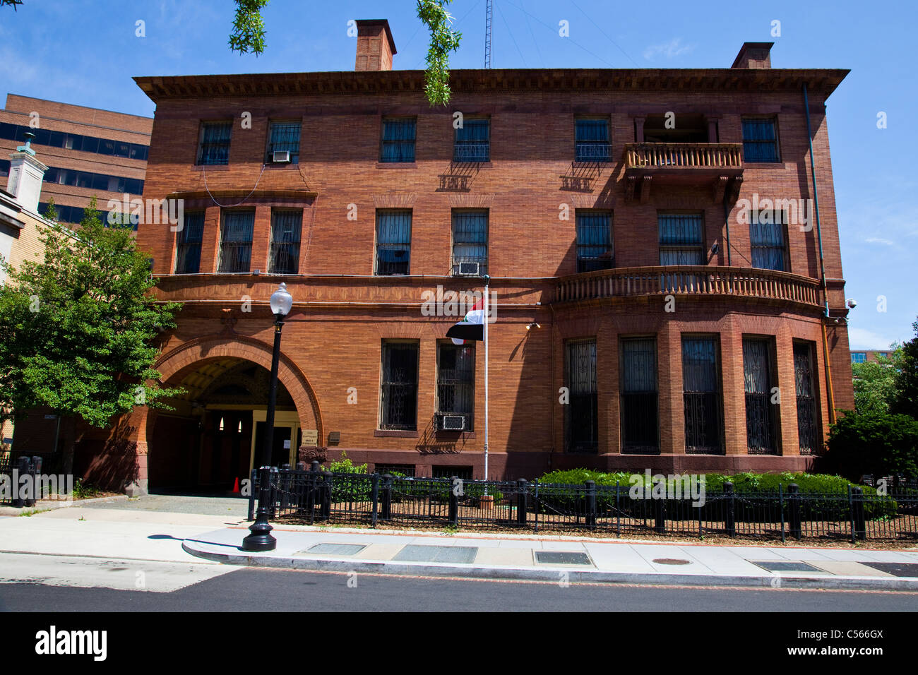 Embassy of Iraq in Washington DC - Stock Image