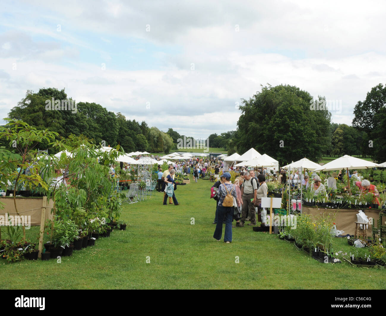 Cottesbrooke Daily Telegraph Plant Buyers Fair, Northampton. - Stock Image