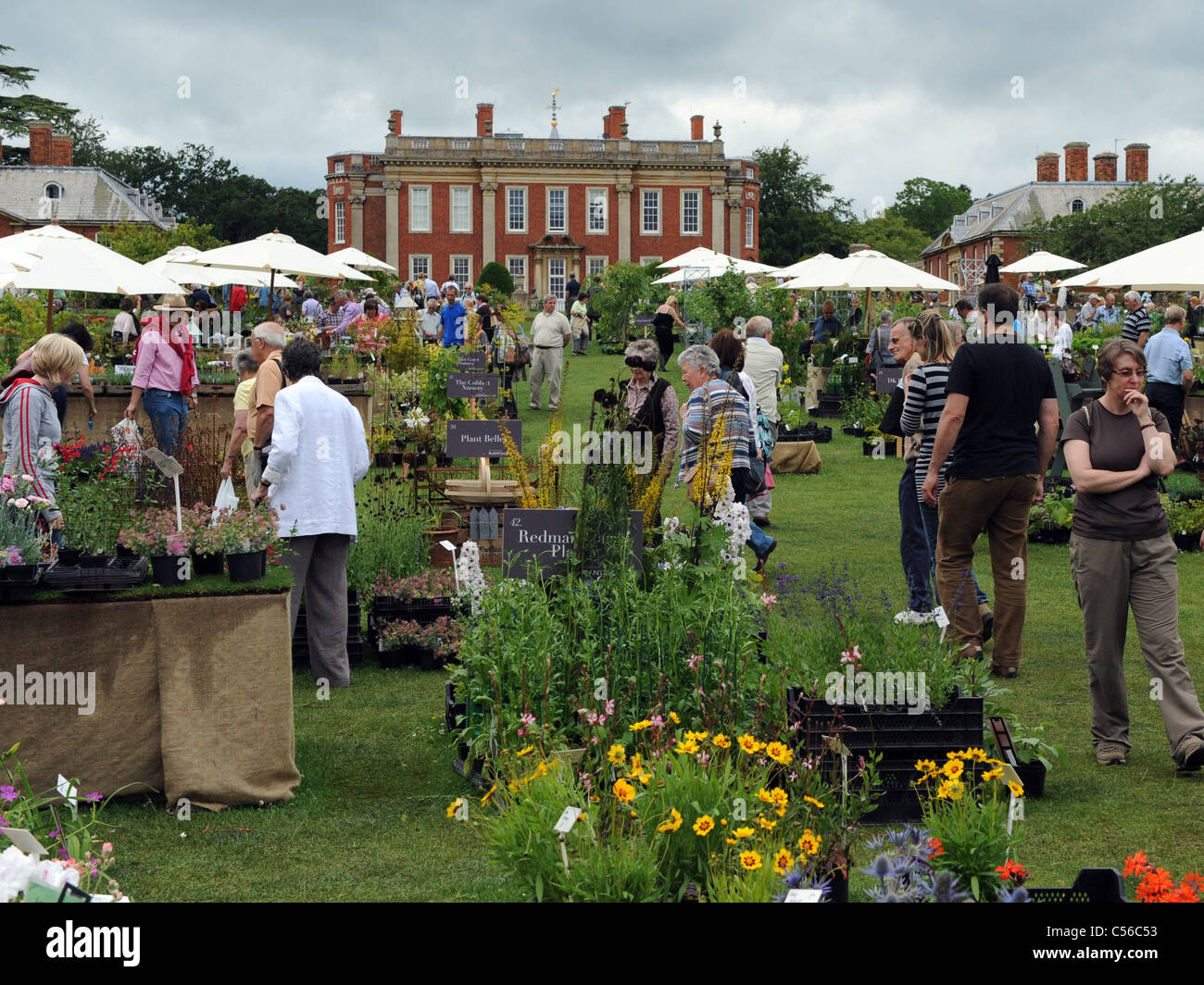 The Daily Telelgraph Plant Finders Fair at Cottesbrooke Hall, Northampton. - Stock Image