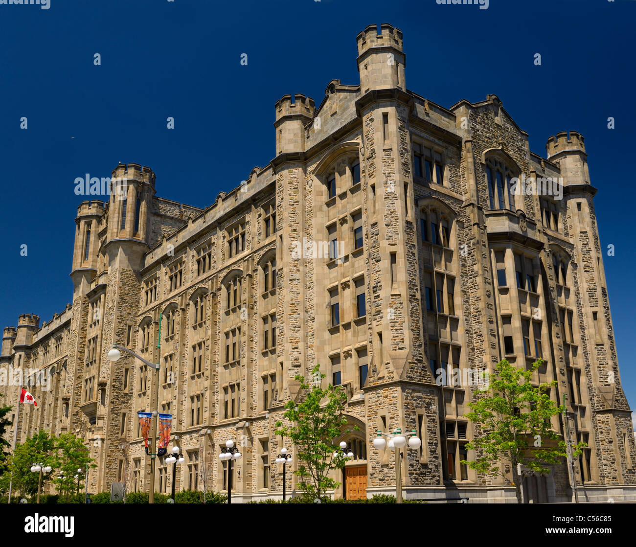 Canada Revenue Agency National Headquarters Connaught Building Byward Market Ottawa - Stock Image