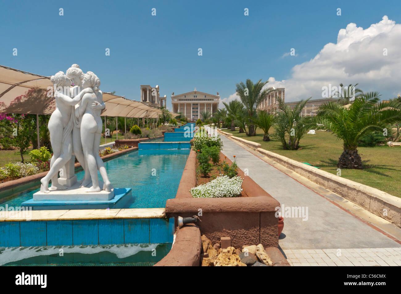 Kaya Artemis Resort Casino Identical Architecture With The Historic Stock Photo Alamy