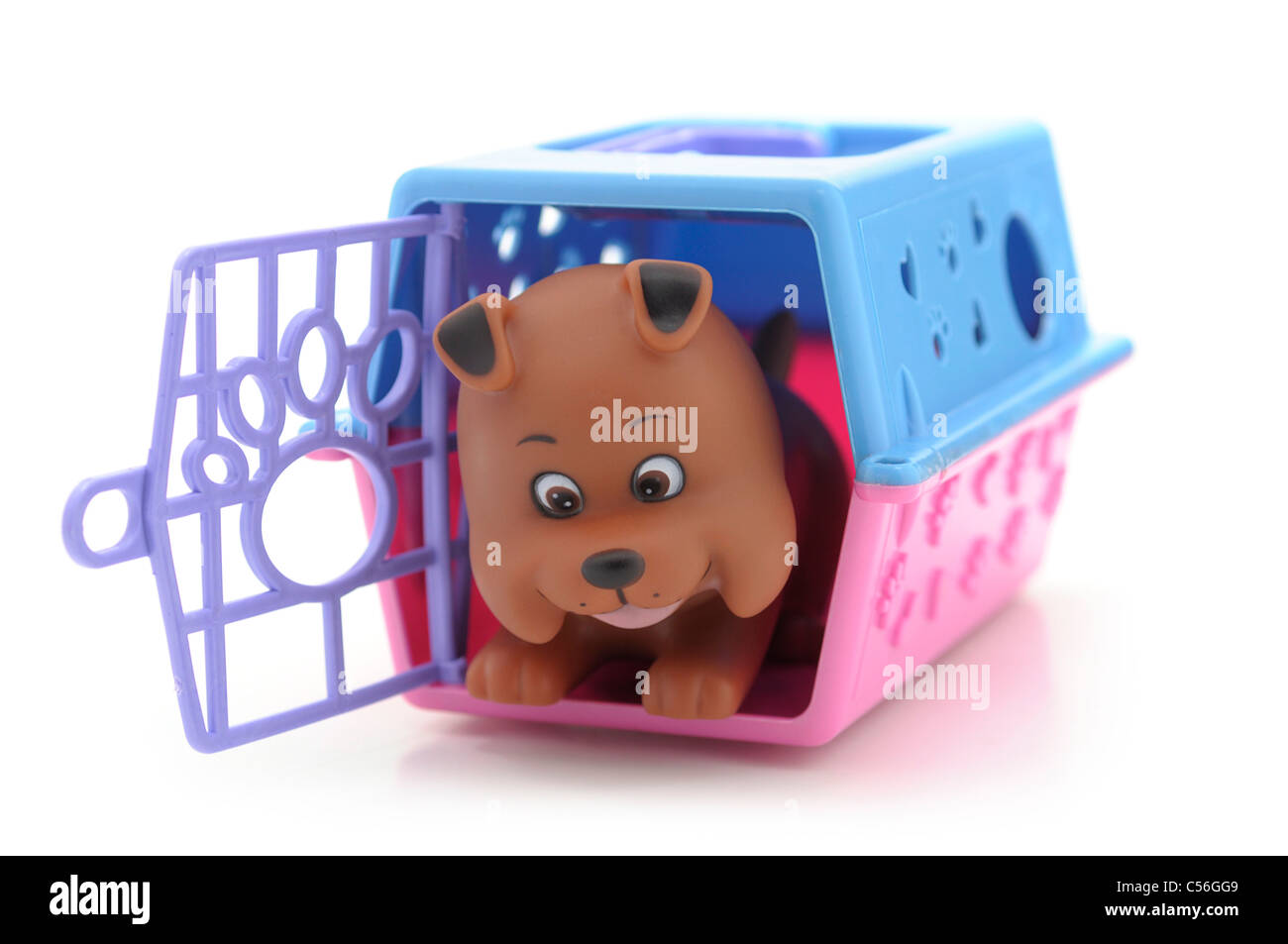 Toy Kennel, Dog House - Stock Image