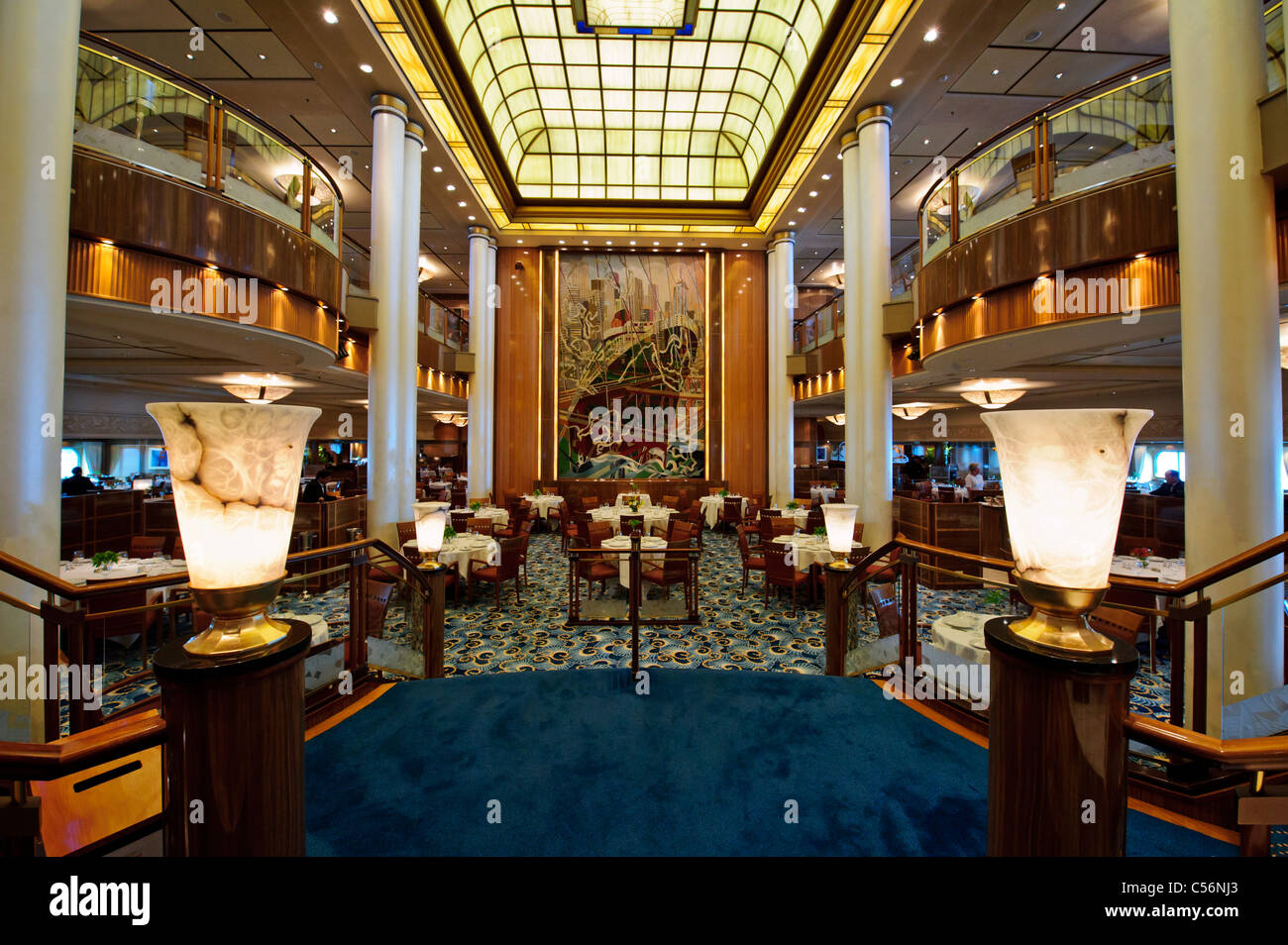 The Lavish Setting Of The Britannia Restaurant On The
