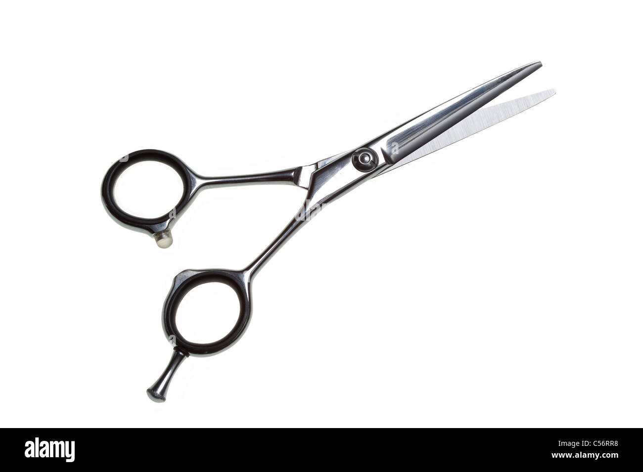 Special scissors for work of hairdresser, for hairstyle and for ...