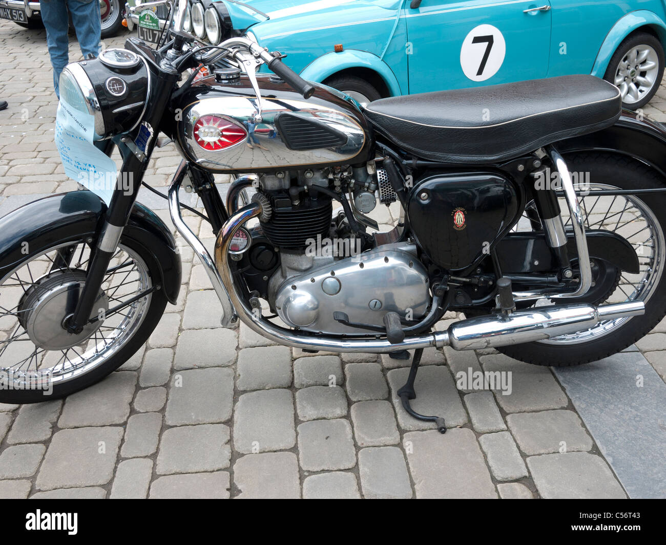 BSA A10 650cc Motorbike 1960 Vintage