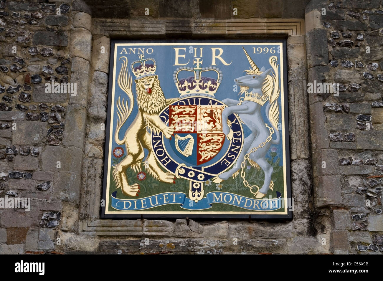 Coat Of Arms In Winchester Hampshire Stock Photo 37646375 Alamy