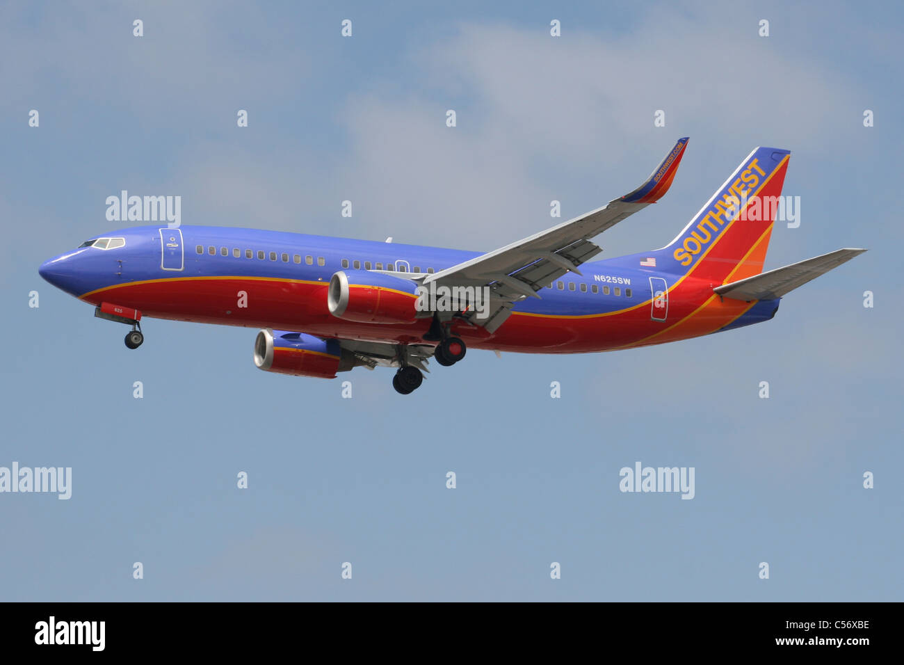 SOUTHWEST AIRLINES - Stock Image