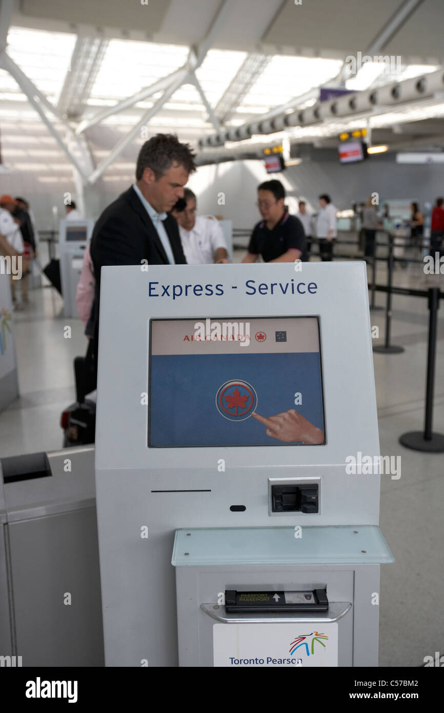 how to use self service check in at airports