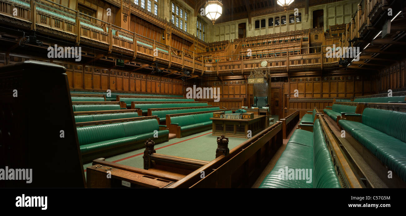 house of commons houses of parliament london interior view of rh alamy com