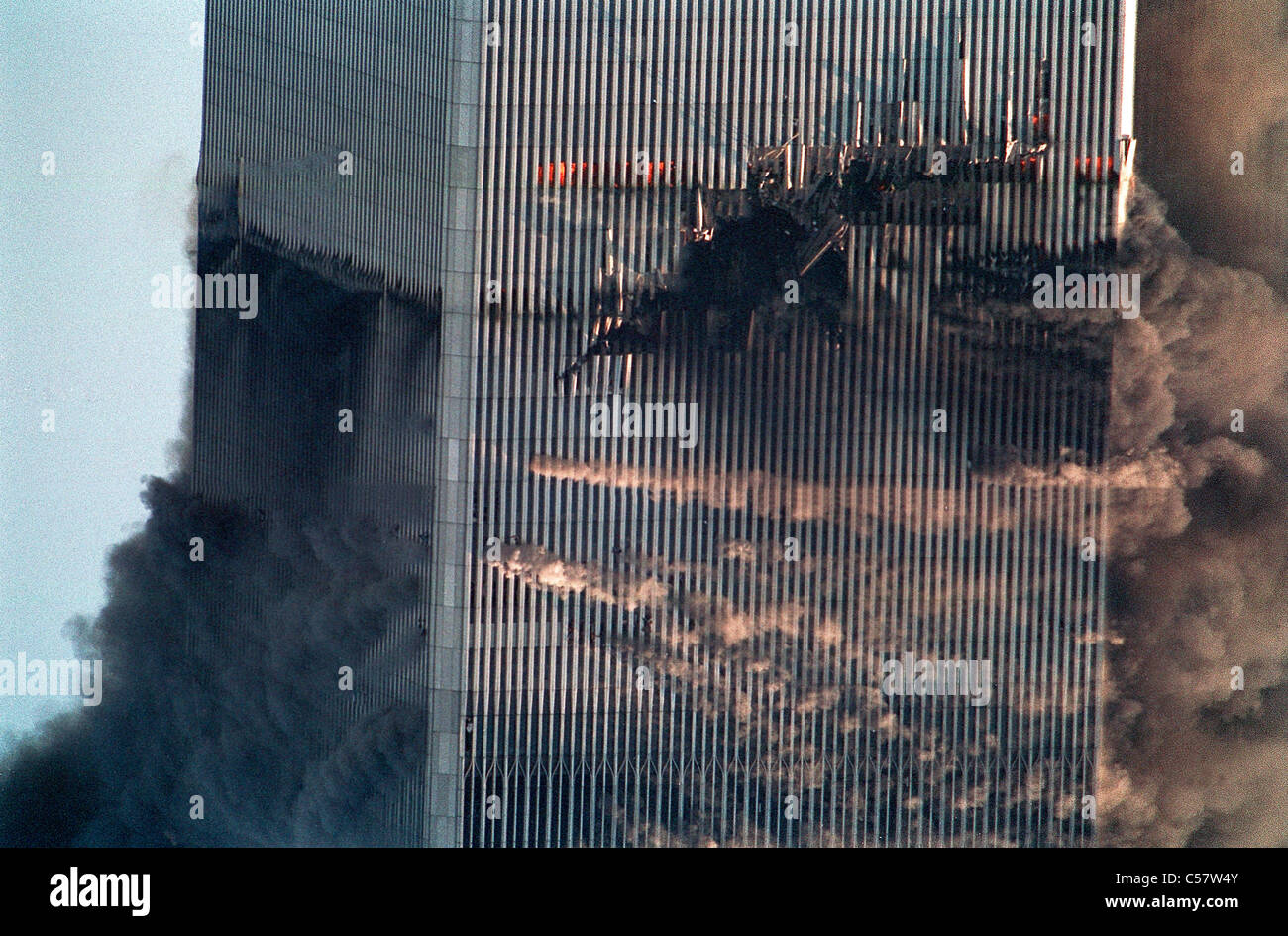 World Trade Center, New York City terrorist attack, September 11, 2001.