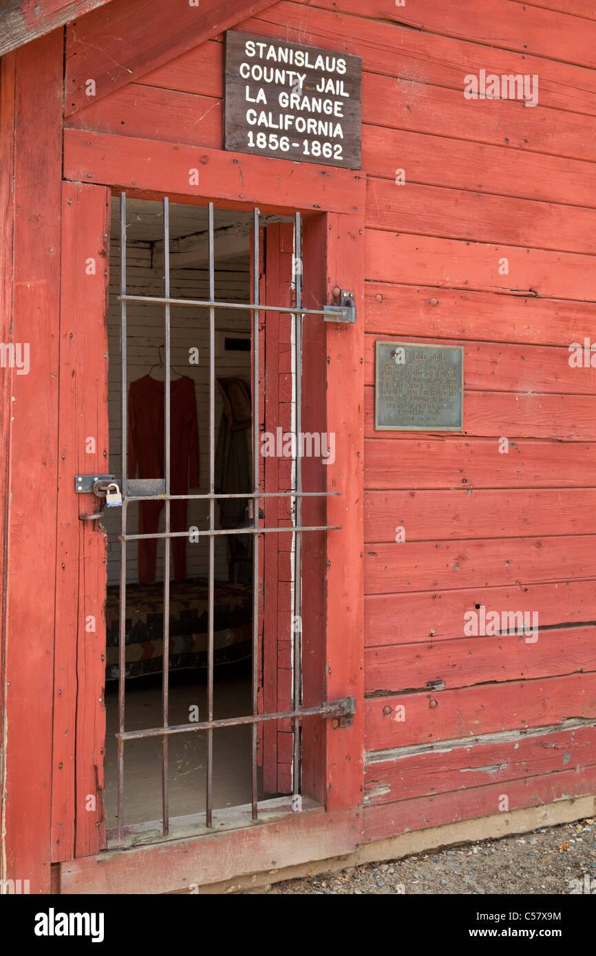 Stanislaus county jail La Grange California USA - Stock Image