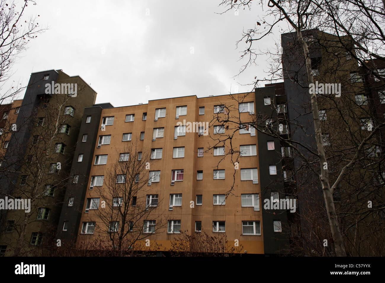 Social housing in Kreuzberg, Berlin, Germany. - Stock Image