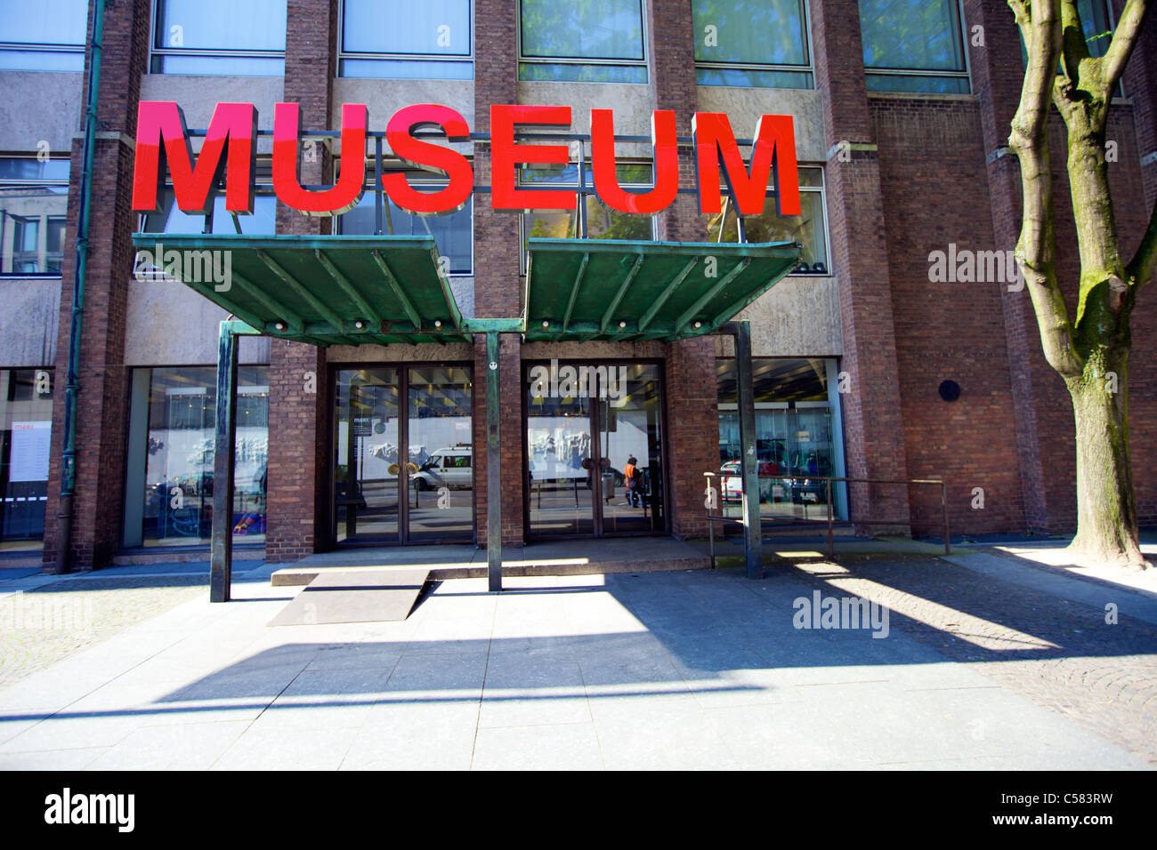 Entrance Of The Museum For Applied Art Museum Fur Angewandte Kunst Stock Photo Alamy