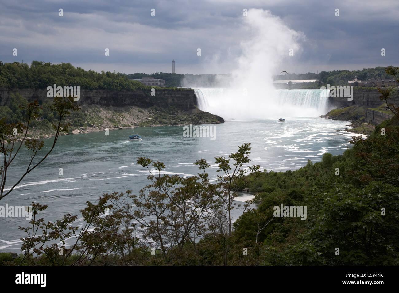 niagara falls ontario canada - Stock Image