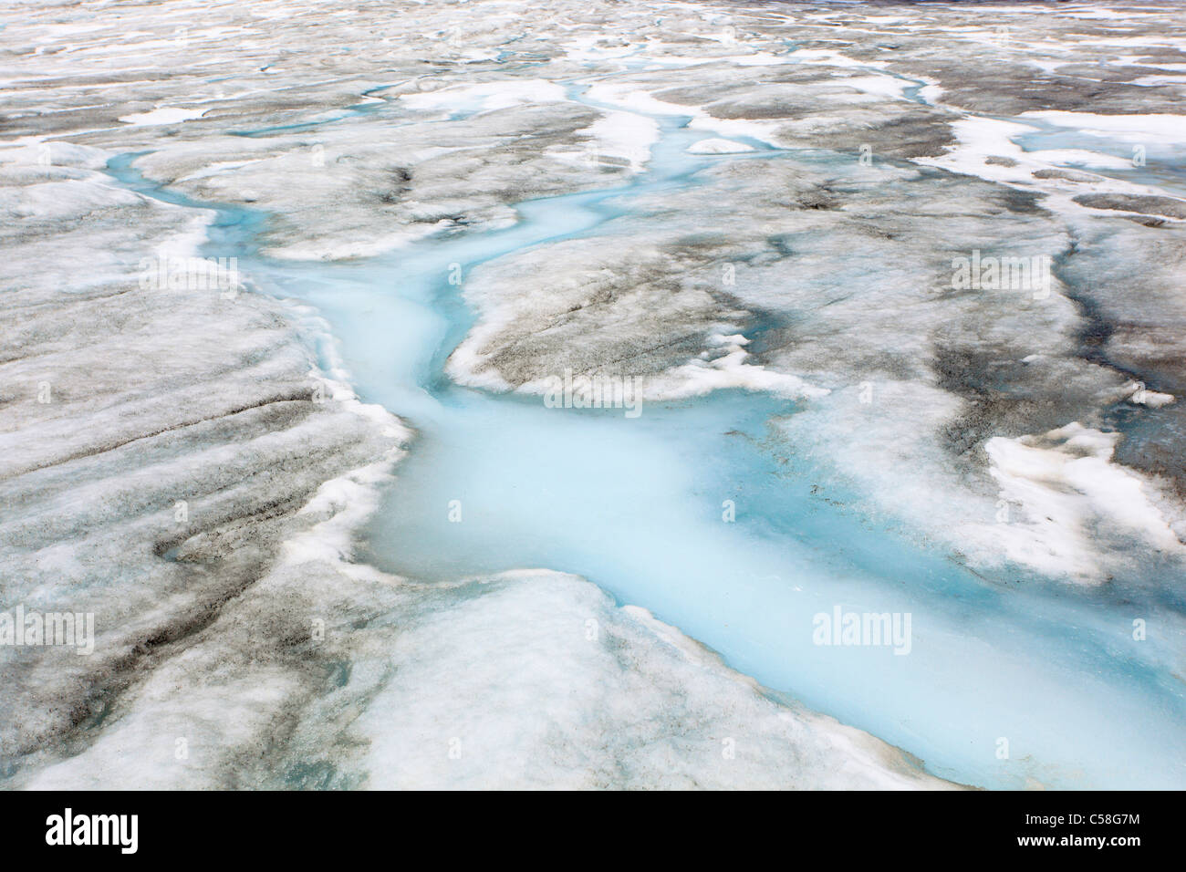 Alps, panorama, mountains, detail, ice, ice melting, Furka, Pass, Furka Pass, mountains, glacier, clima, glacier - Stock Image