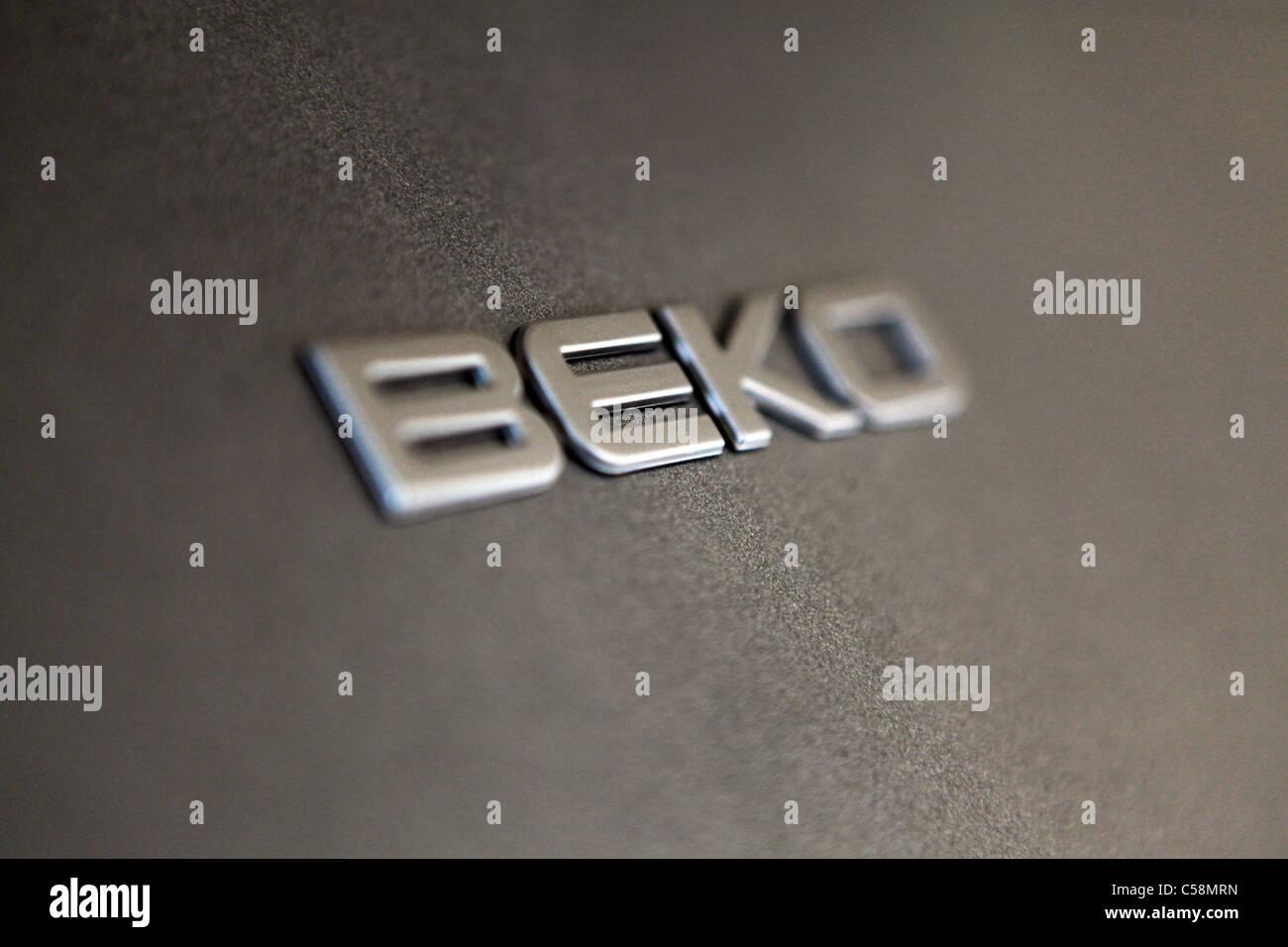 A Beko freezer - Stock Image