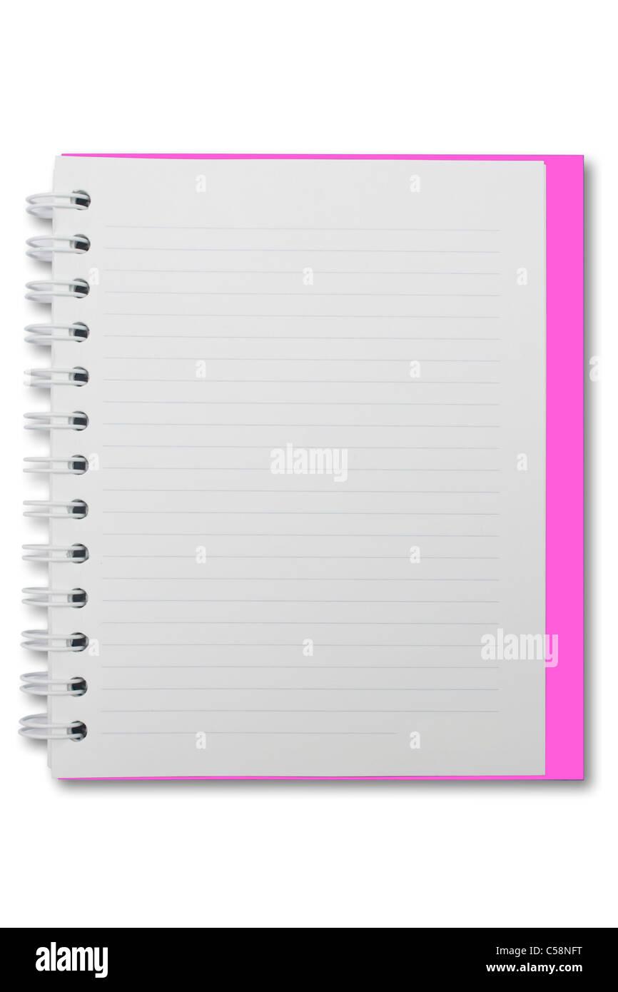 mini blank page notebook stock photo 37686540 alamy