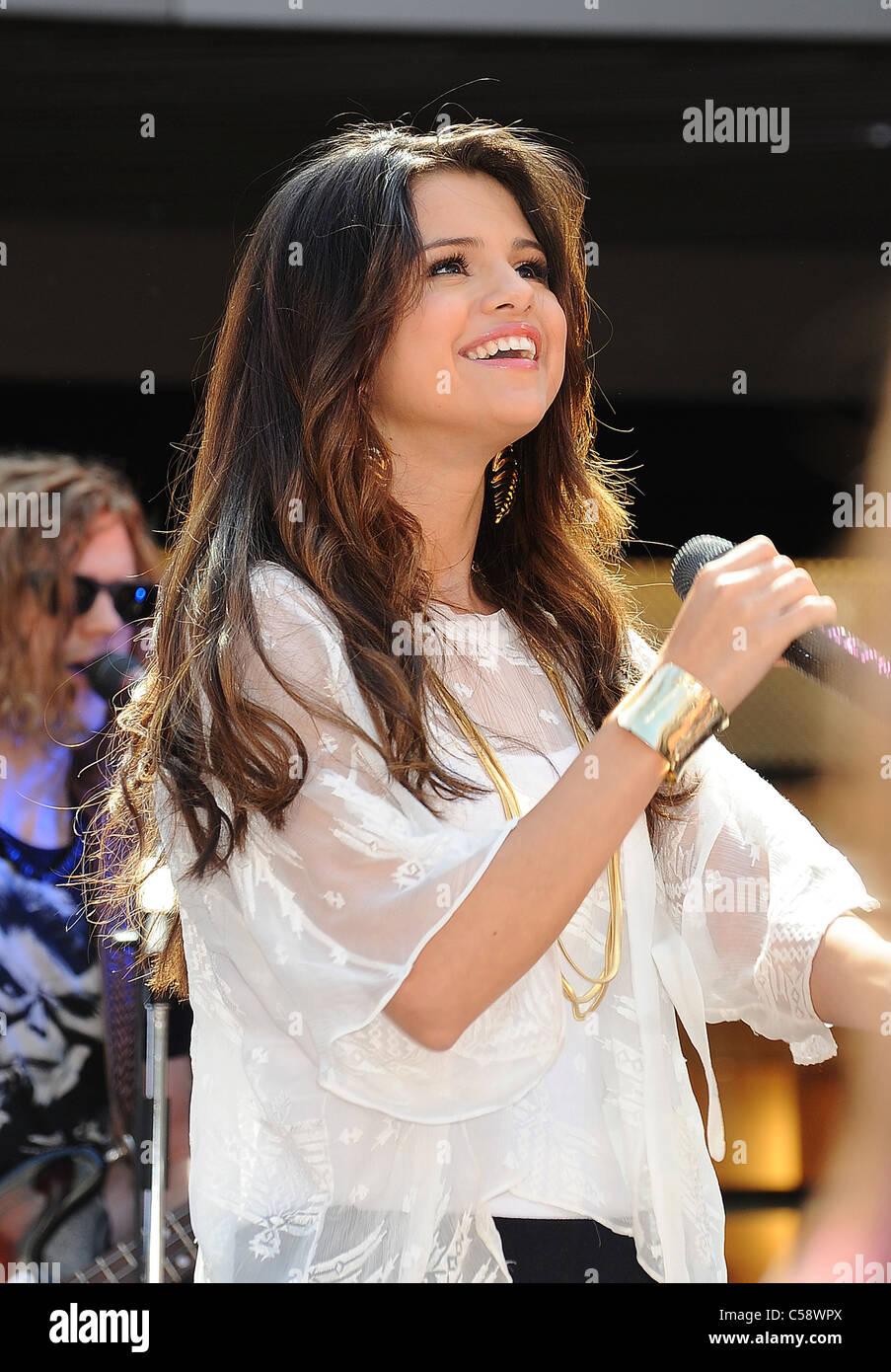 SELENA GOMEZ  US film actress and pop singer in June 2011. Photo Jeffrey Mayer - Stock Image