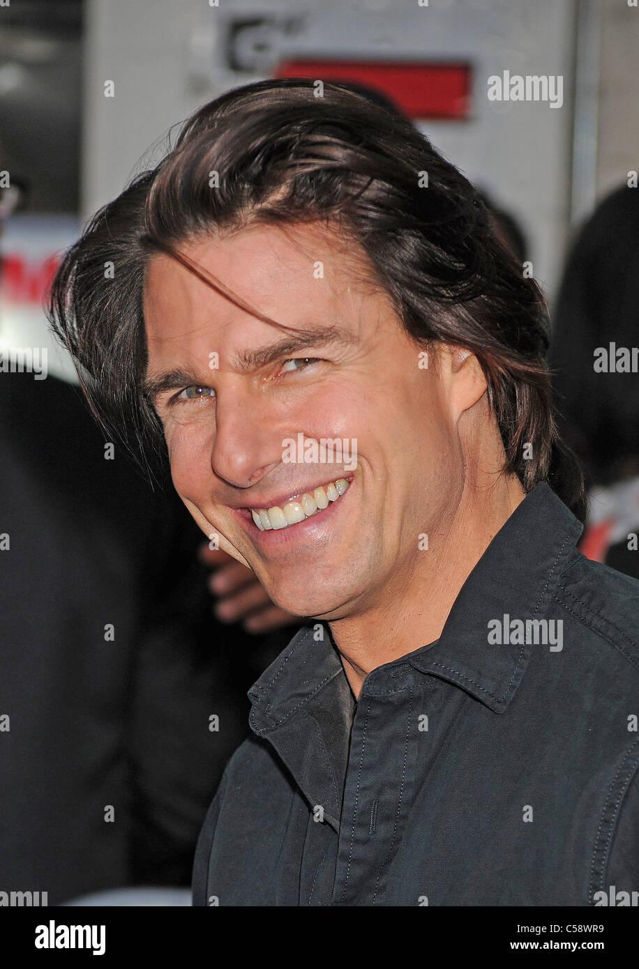 TOM CRUISE  US film actor in June 2011. Photo Jeffrey Mayer - Stock Image