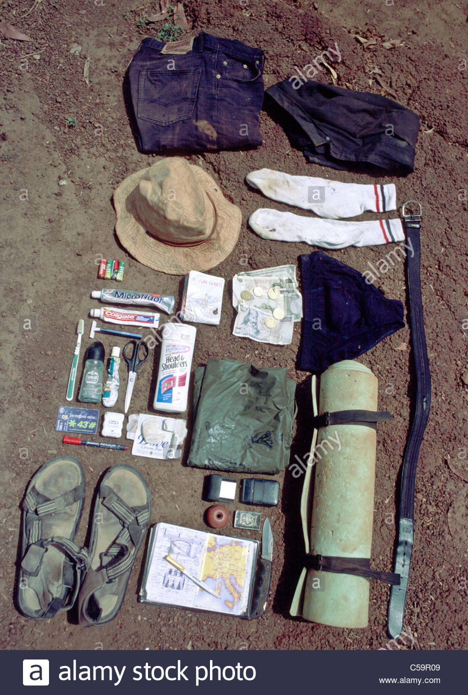 the best attitude eb05f a3278 Camping equipment used by explorer Kypros in Africa - my ...