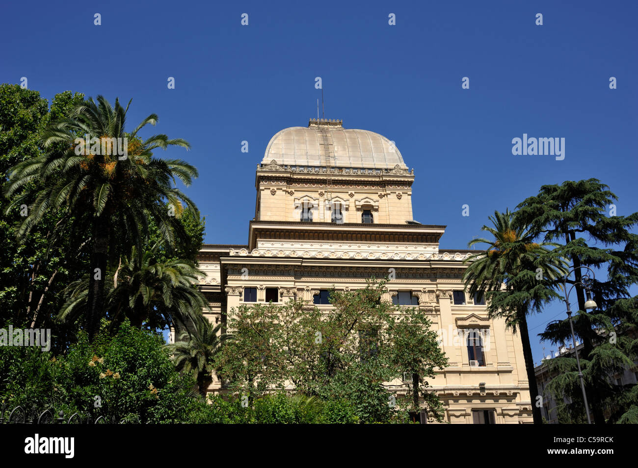 italy, rome, jewish ghetto, synagogue - Stock Image