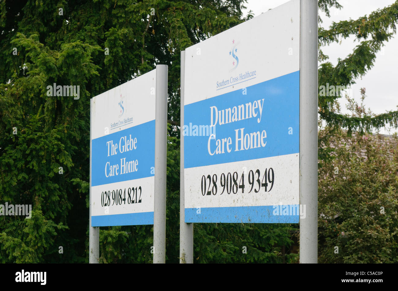 Southern Cross Healthcare announces it is to cease trading - Stock Image
