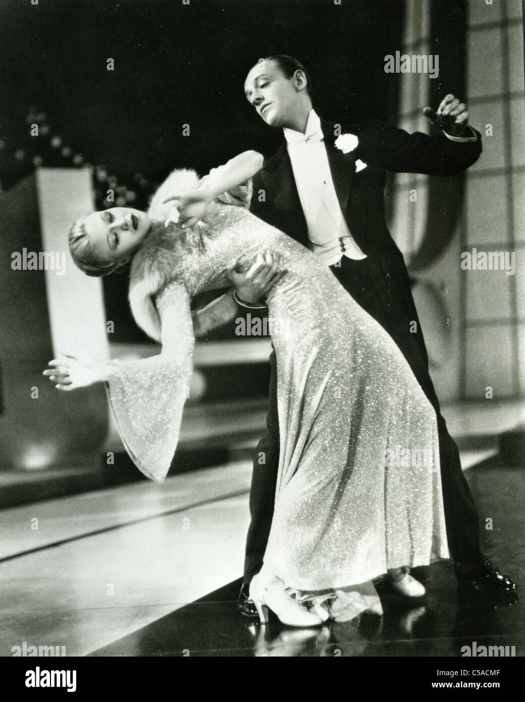 Fred Astaire And Ginger Rogers Us Film Dancers And Singers Stock Photo Alamy