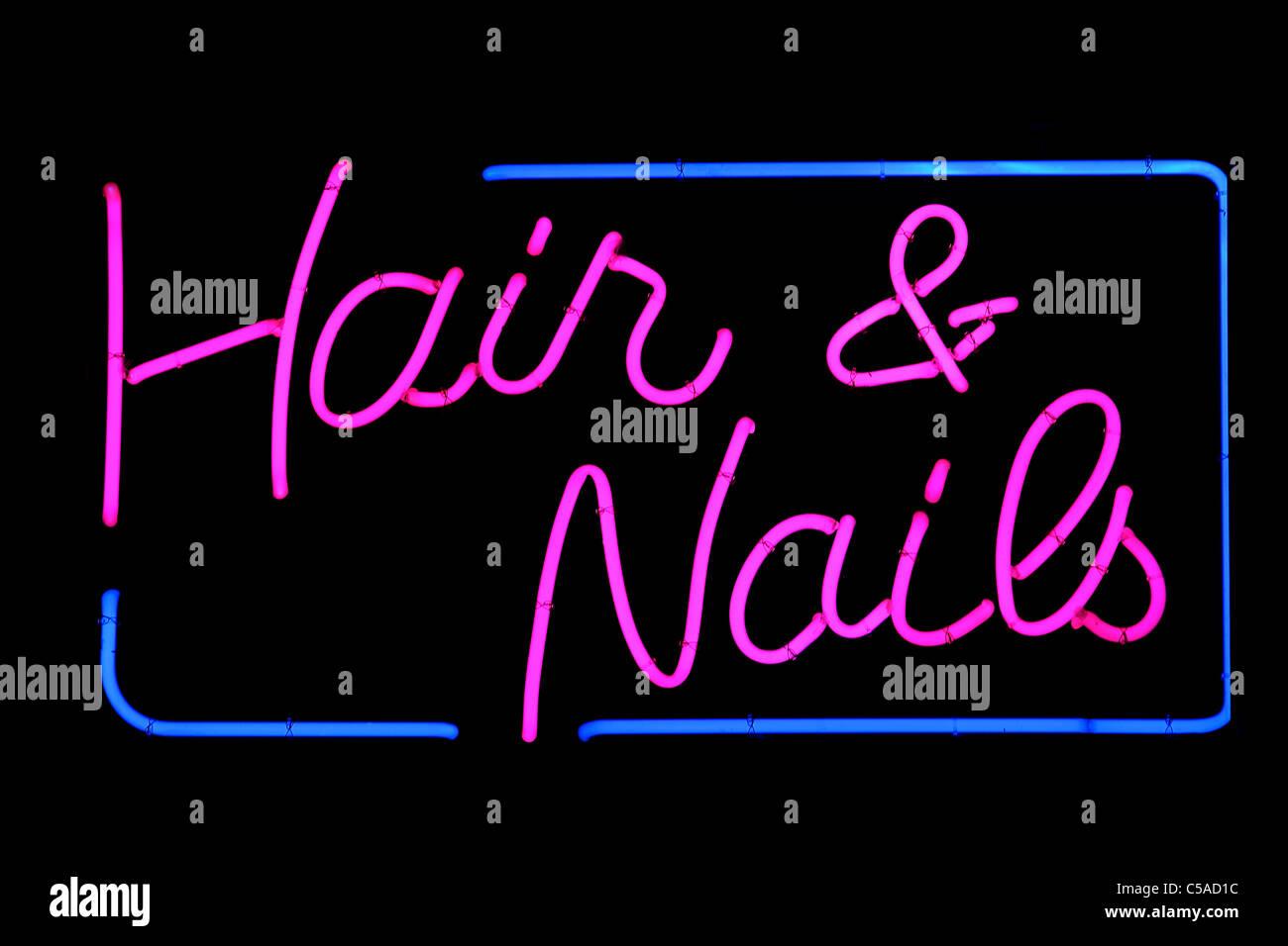 Hair Salon Sign Stock Photos & Hair Salon Sign Stock Images - Alamy
