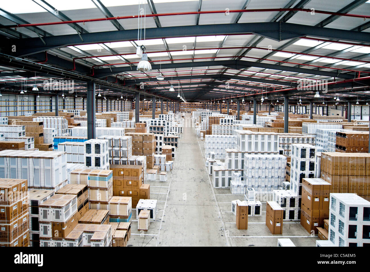 Warehouse storage 2 - Stock Image
