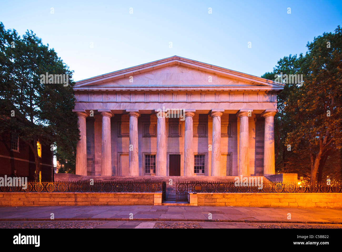 Second Bank of US, Philadelphia - Stock Image