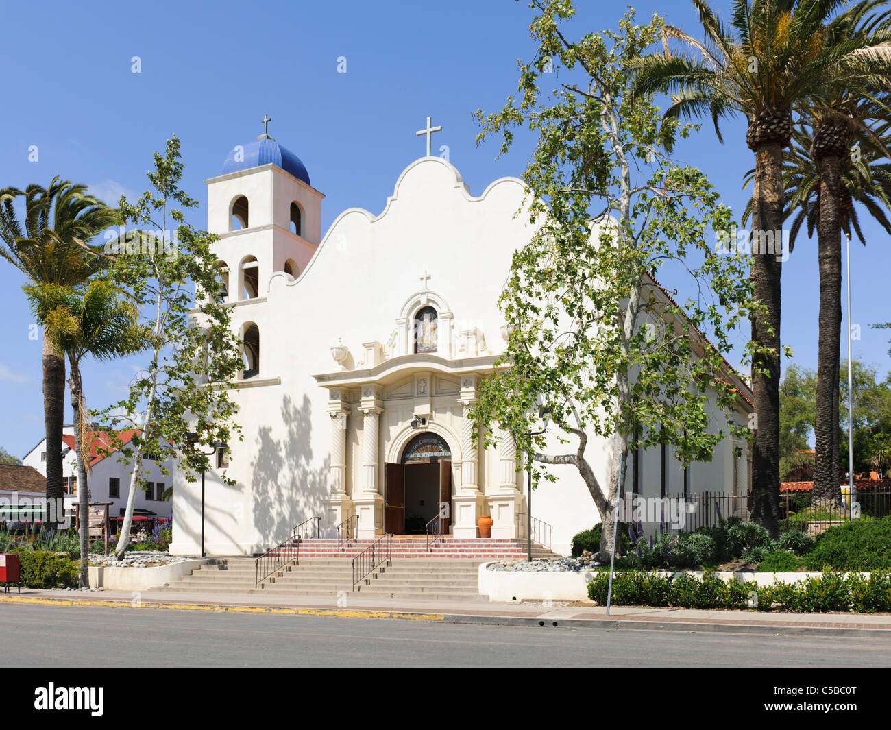 Immaculate Conception Catholic Church, San Diego, CA - Stock Image