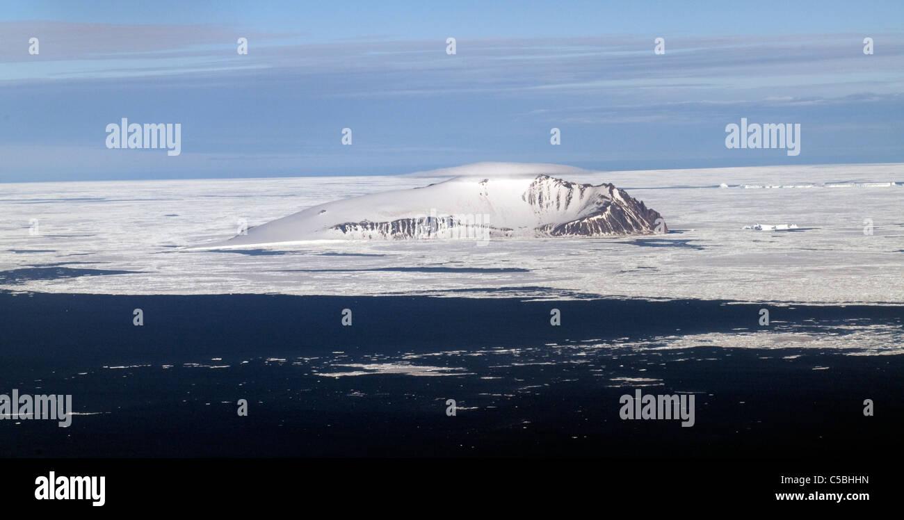 Beaufort Island McMurdo Sound Ross Sea Antarctica - Stock Image
