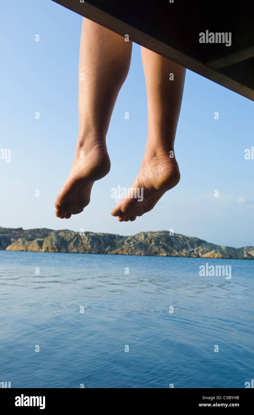 Is Bare Minerals Makeup Cruelty Free: Bare Feet Dangling Stock Photos & Bare Feet Dangling Stock