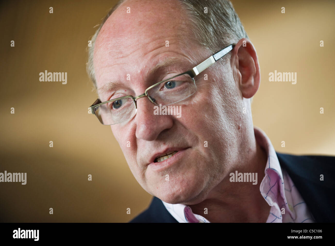 Jonathan Evans MP Conservative Party Member of Parliament for Cardiff North - Stock Image
