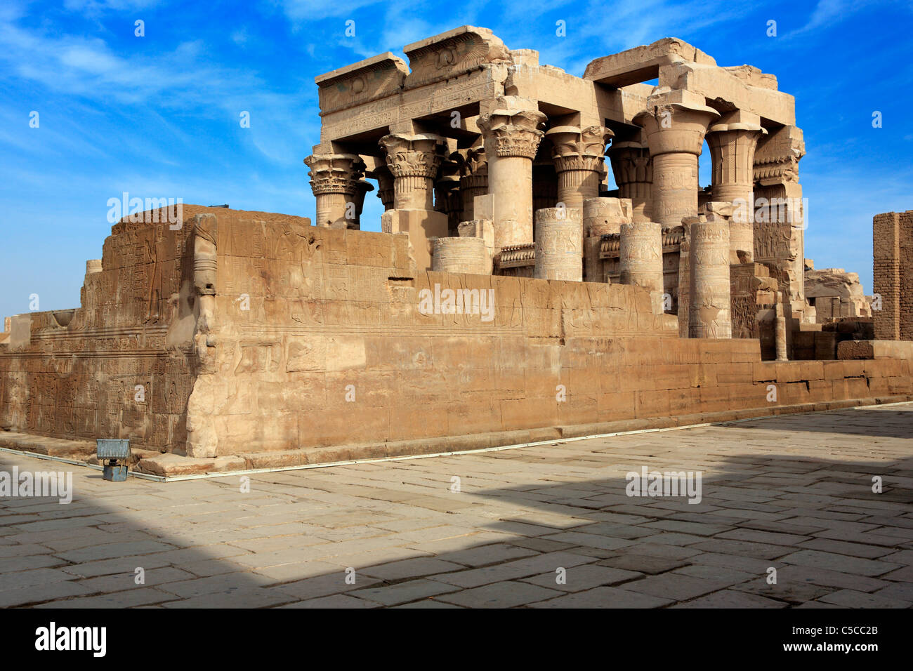 Sobek and Haroeris temple (2nd-1st century BC), Kom Ombo, Egypt Stock Photo