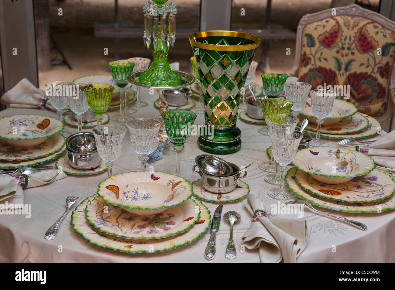 Paris, France, Luxury French Table Setting, Lorraine \