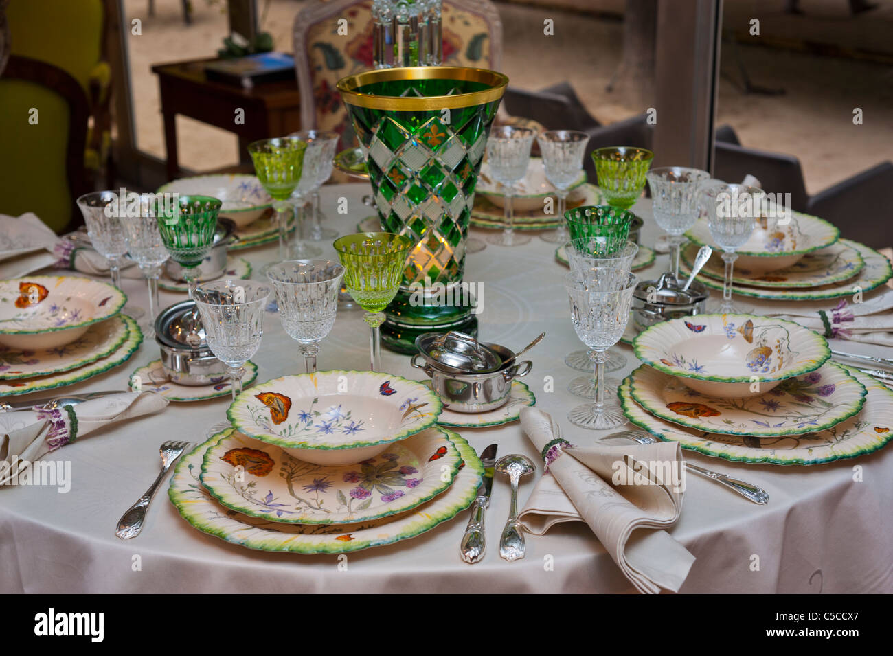 Paris, France, French Luxury Table Setting, Lorraine \
