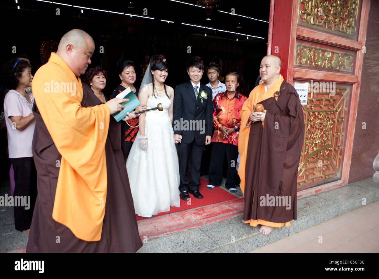 Buddhist Wedding Ceremony Stock Photos Buddhist Wedding Ceremony