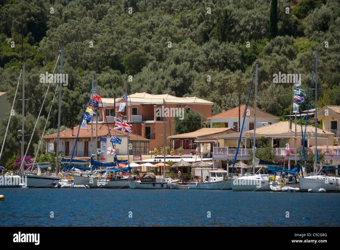 Greece Ionian islands Lefkada Sivota - Stock Image