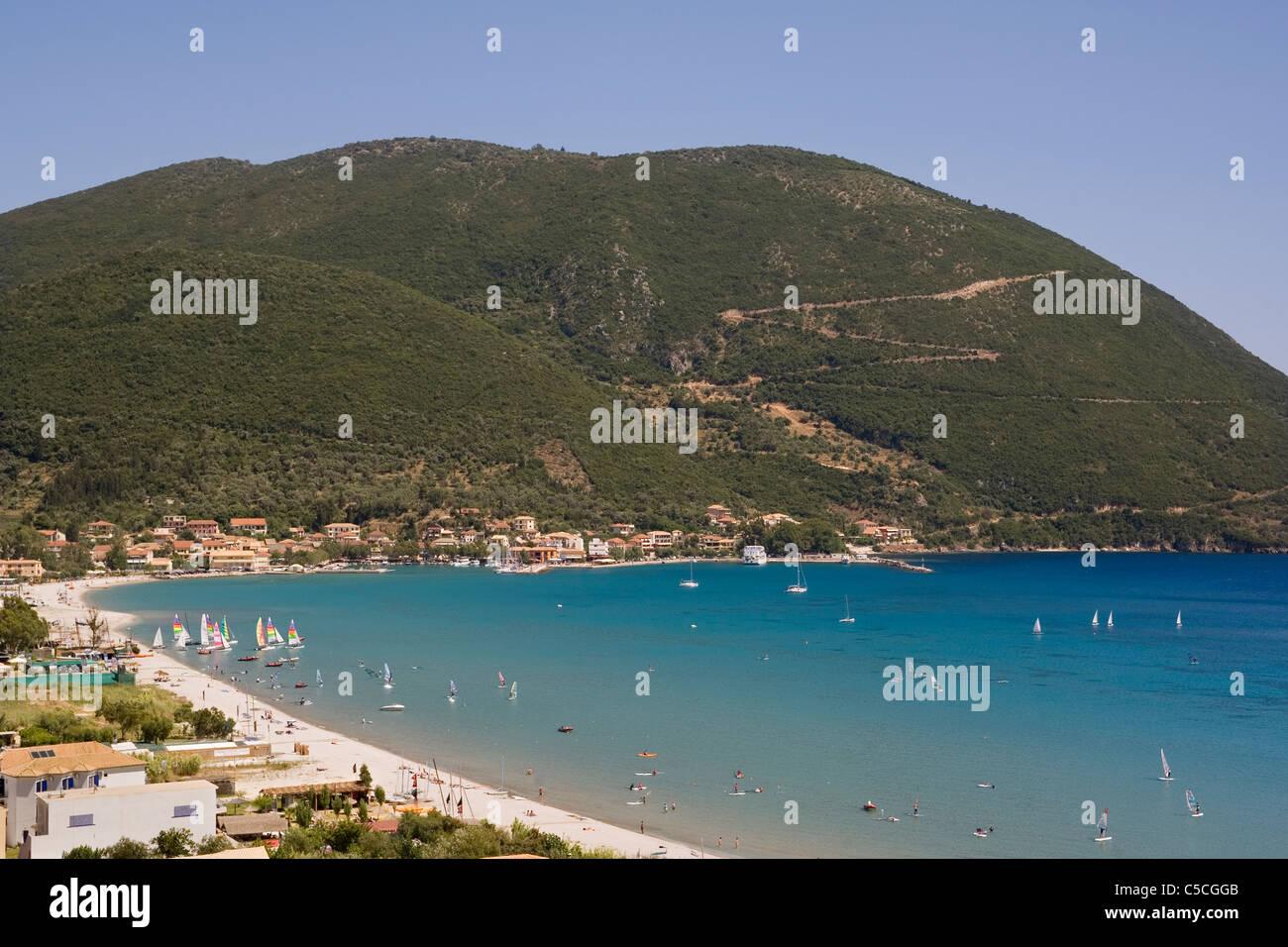 Greece Ionian islands Lefkada Vassiliki - Stock Image