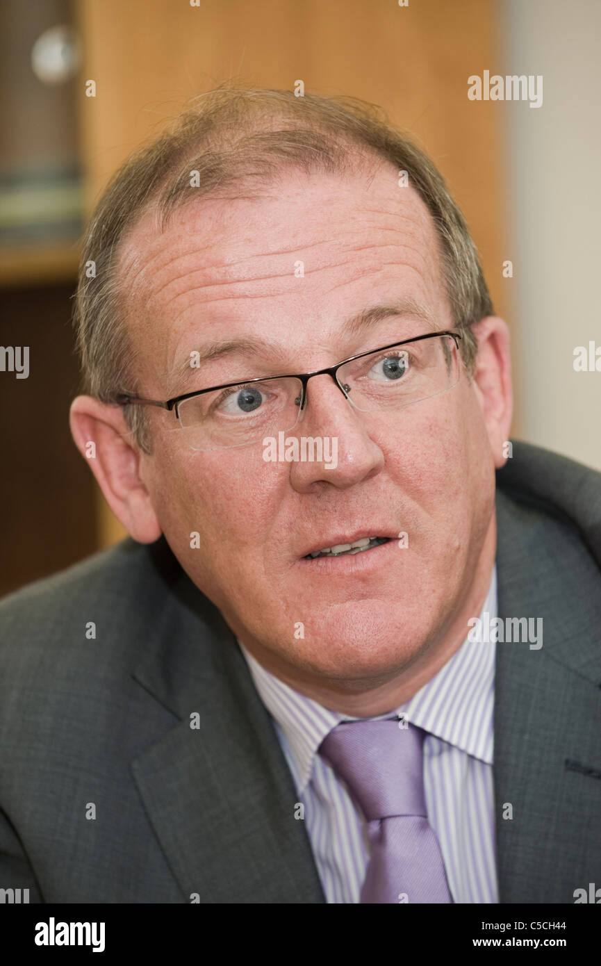 Aled Roberts AM Welsh Liberal Democrat Assembly Member for North Wales in the National Assembly for Wales - Stock Image