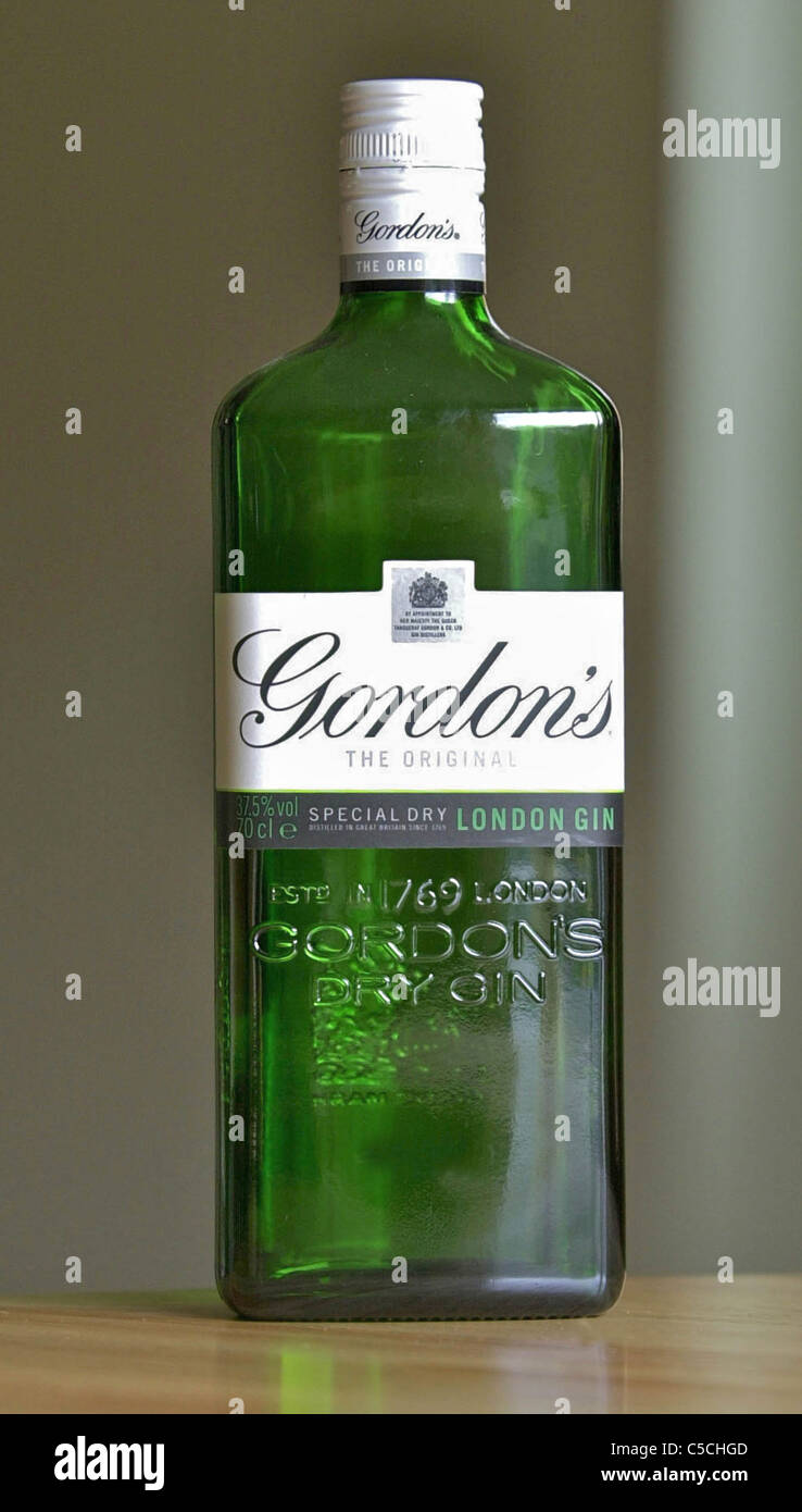 Alcoholic beverage, drink, fermented, social problems. GORDON\'S GIN ...