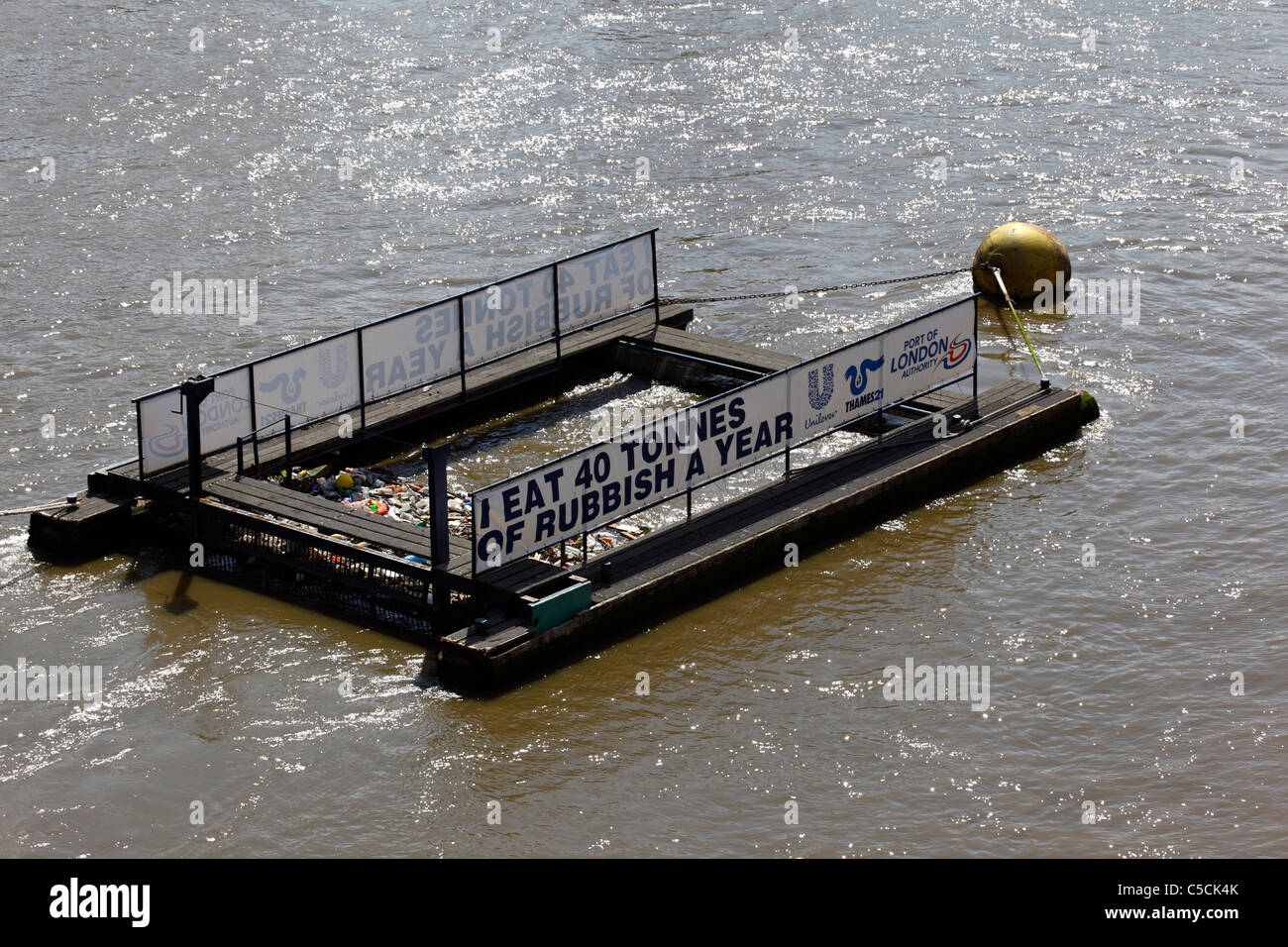 Plastic Removal River Stock Photos & Plastic Removal River
