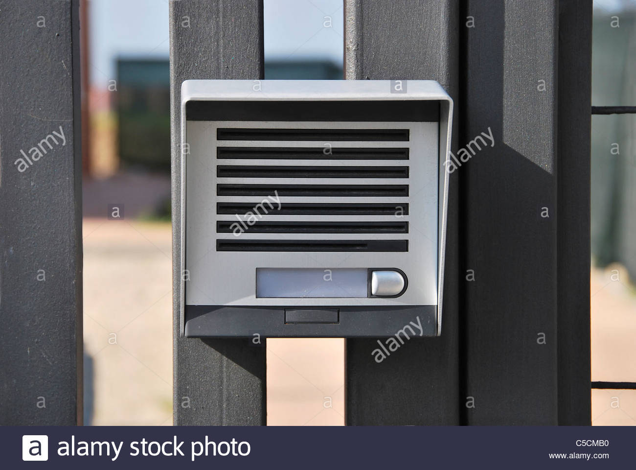 Intercommunication Stock Photos Images Intercom Circuit Electronic Device For Security System Image